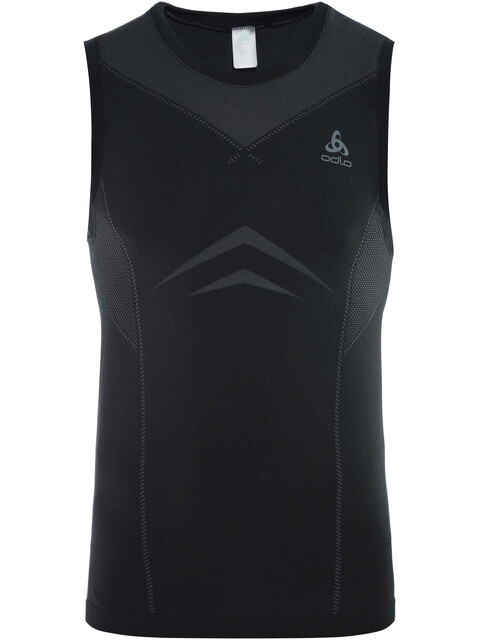 Odlo Performance Light Crew Neck Singlet Men black-odlo graphite grey